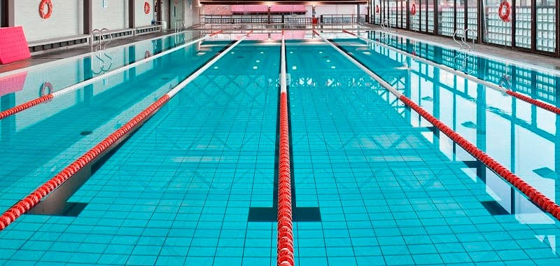 ozono piscina gimnasio